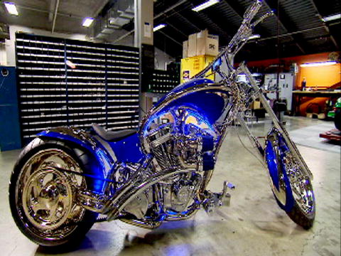 American Chopper: Sr vs Jr: Bike bling