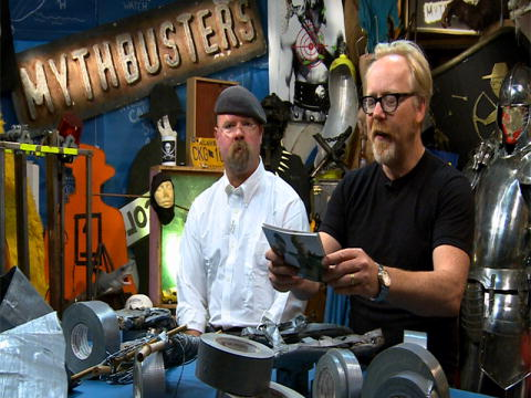 MythBusters: Eftersnack  - Silvertejps-