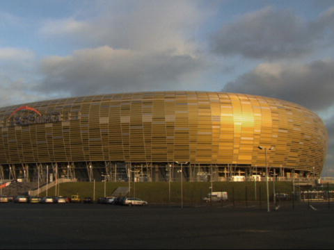 Engineering the European Championship: Gdansk stadion