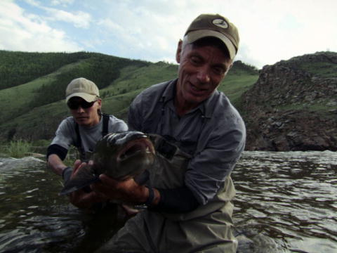 River Monsters: Jeremy's første Taimen