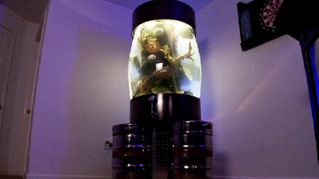 Man Cave Show Tank : Reveal keg tank tanked animal planet
