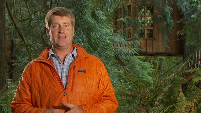 Exclusive Interview With Pete Nelson Treehouse Masters Animal