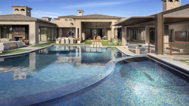 A professional athlete s backyard retreat the pool master animal planet for Rocky mountain house swimming pool schedule