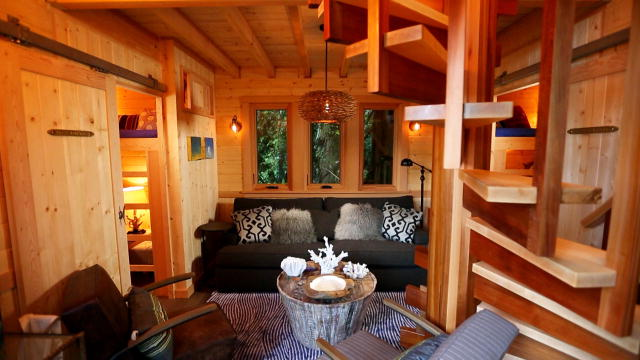 Treehouse masters - Treehouse masters interior ...