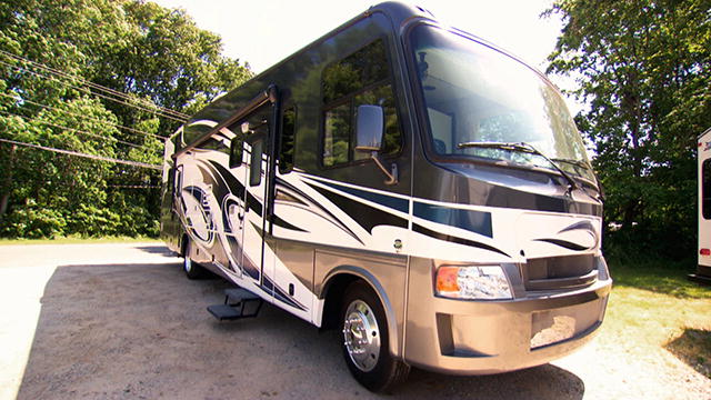 Cool Renegade RV Class A Diesel Motorhome With A GarageGreat Toy Hauler