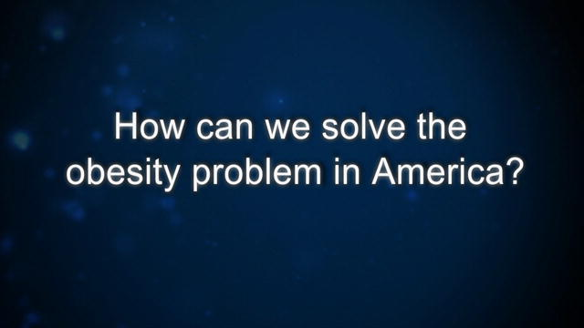 solving the problem of obesity in america There is no single or simple solution to the obesity epidemic it's a complex problem and there has to be a multifaceted approach policy makers, state and local organizations, business and community leaders, school, childcare and healthcare professionals, and individuals must work together to .