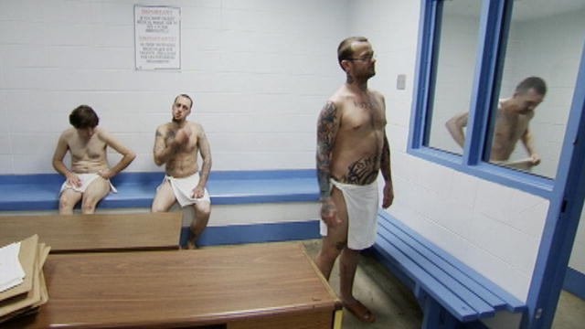 Prison strip search videos