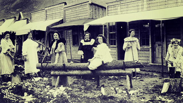 Klondike: Dawson City Women : Video : Discovery Channel