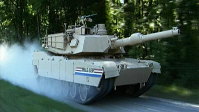 Military: Abrams M1A2