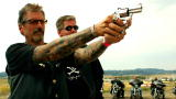 American Guns: Biker Tests His Custom Revolver