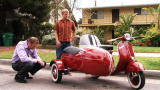 Auctioneer$: Vespa With A Sidecar